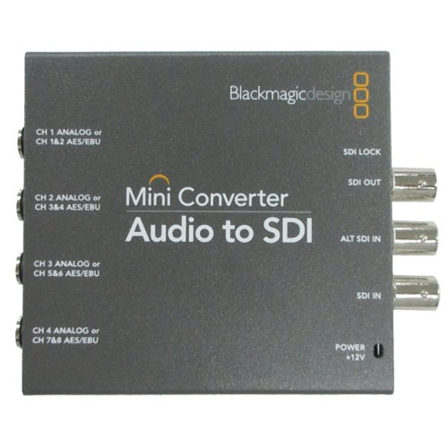 【Mini Converter Audio to SDI 2 上物 中古品】 Blackmagic Design コンバーター