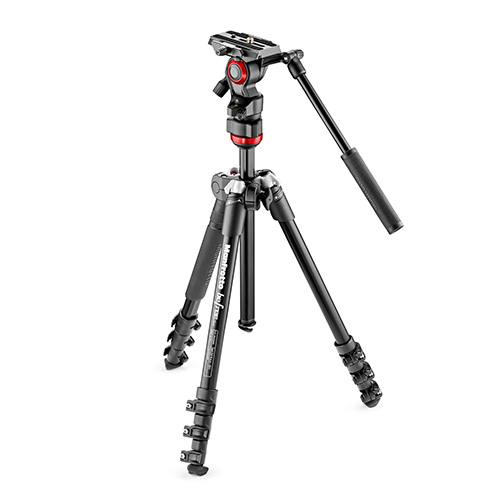 【MVKBFR-LIVE】 Manfrotto befree live ビデオ三脚キット MVH400AH付