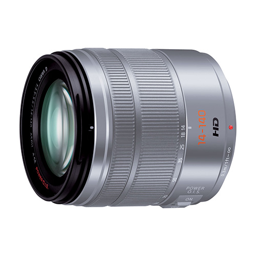 【LUMIX G VARIO 14-140mm / F3.5-5.6 ASPH. / POWER O.I.S. シルバー】 Panasonic 標準ズームレンズ