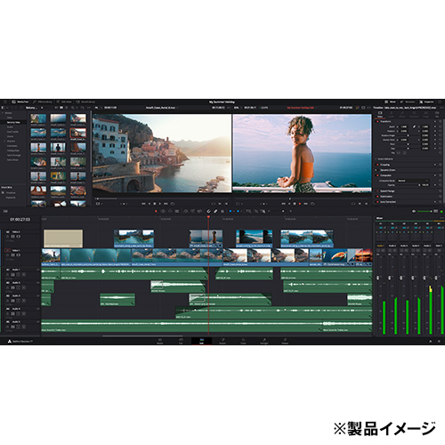 DaVinci Resolve Studio ライセンスキー版